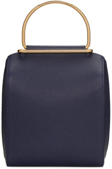 Roksanda - Navy Small Top Handle Bag