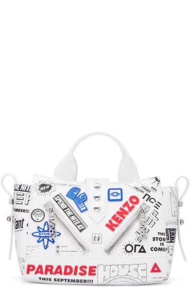 Kenzo - White Flyers Kalifornia Bag