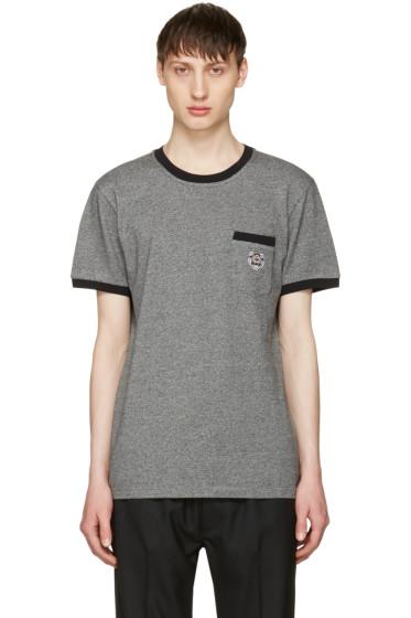 Kenzo - Grey Tiger Pocket -T-Shirt