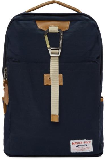 Master-Piece Co - Navy Link Backpack