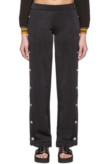 Versus - Black Side Slit Lounge Pants