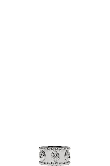 Versus - シルバー オールオーバー ライオン リング