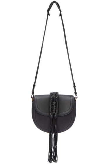 Altuzarra - Black Ghianda Knot Saddle Bag