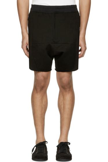 Julius - Black 'Dust' Shorts