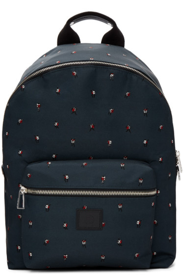 PS by Paul Smith - Green 'Dancing Dice' Backpack