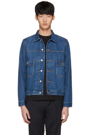 PS by Paul Smith - Blue Denim Western Jacket