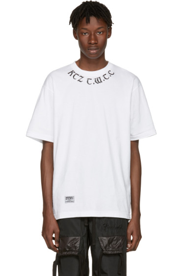 KTZ - White 'The World To Come' T-Shirt