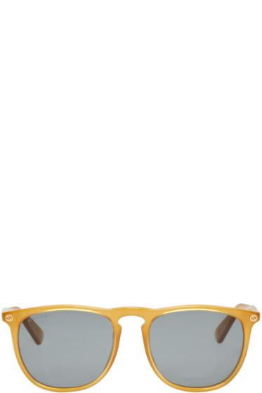 Gucci - Tan Urban Pantos Sunglasses