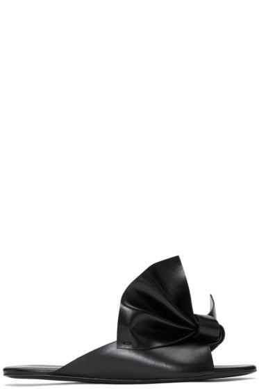 Cédric Charlier - Black Bow Sandals