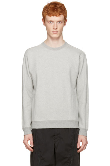 Nanamica - Grey Crewneck Pullover