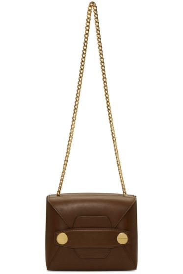 Stella McCartney - Brown Small Stella Popper Bag