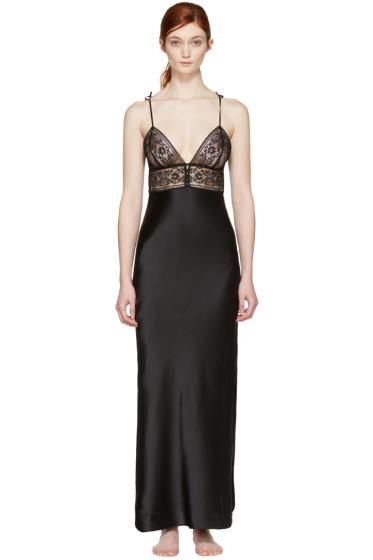 Stella McCartney - Black Ophelia Whistling Nightgown