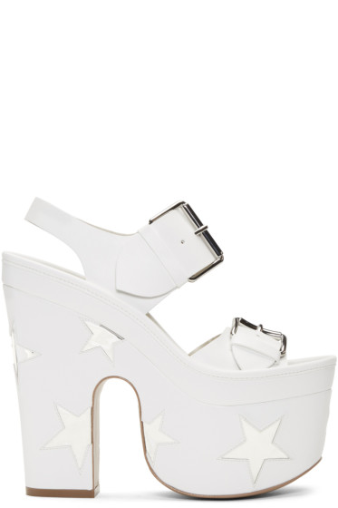 Stella McCartney - White Star Sandals