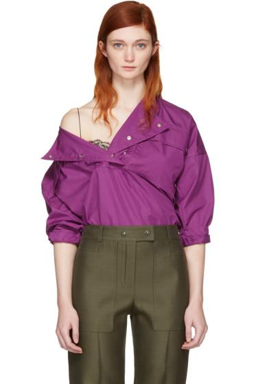 Nina Ricci - Purple Sporty Blouse