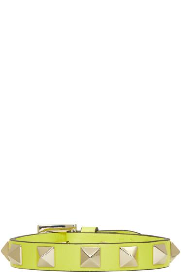 Valentino - Yellow Small Rockstud Bracelet