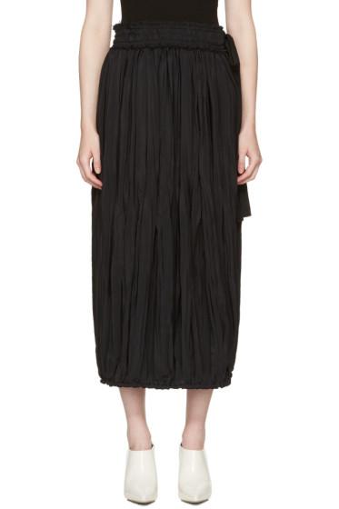 J.W. Anderson - Black Pleated Skirt