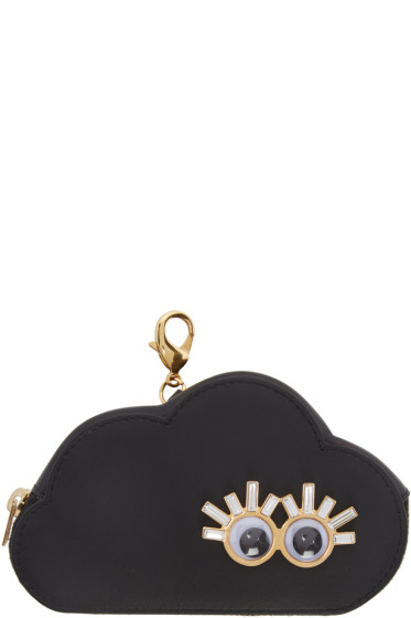 Sophie Hulme - Black Cloud Coin Pouch