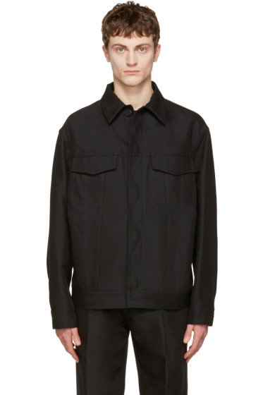 Calvin Klein Collection - Black Richardson Jacket