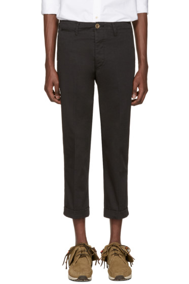 Visvim - Black High Water Chinos