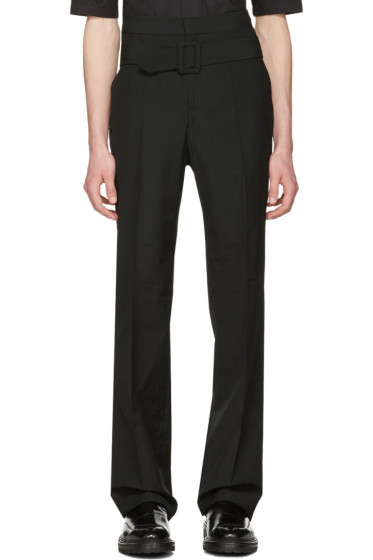 Yang Li - Black Belted Trousers