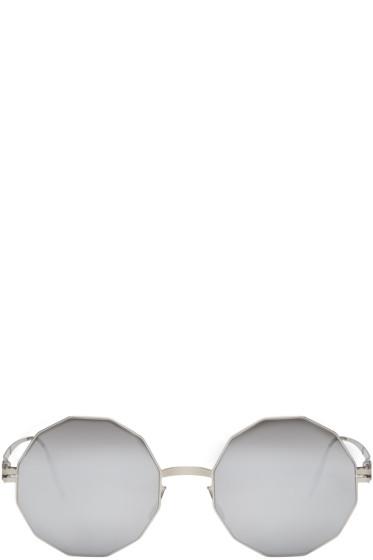 Mykita - Silver Bernhard Willhelm Edition Veruschka Sunglasses