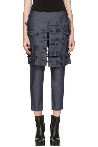 Facetasm - Indigo Ties Trousers