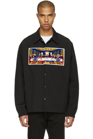 Facetasm - Black Last Supper Short Jacket