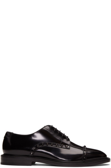 Jimmy Choo - Black Penn Derbys