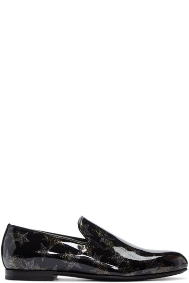 Jimmy Choo - Black Star Sloane Loafers