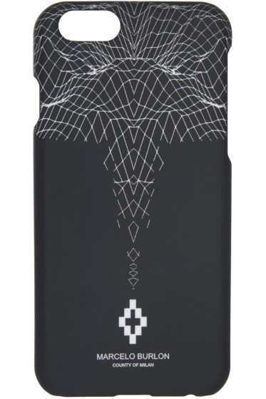 Marcelo Burlon County of Milan - Black Sebastian iPhone 6 Case