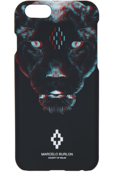 Marcelo Burlon County of Milan - Black Rufo iPhone 6 Case