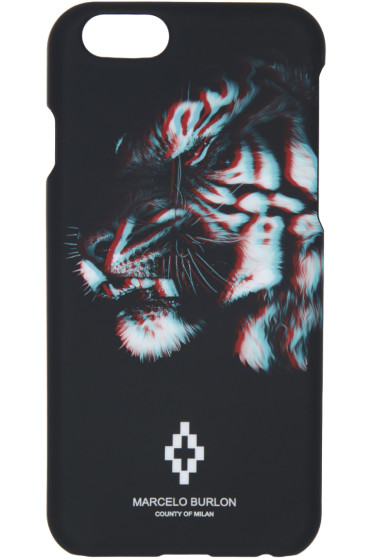 Marcelo Burlon County of Milan - Black Tajo iPhone 6 Case