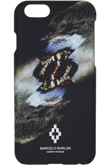 Marcelo Burlon County of Milan - Black Tobias iPhone 6 Case