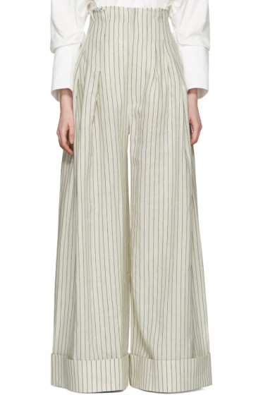 Jacquemus - Off-White 'Le Pantalon Arlesien' Trousers