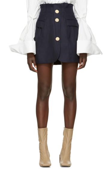 Jacquemus - Navy 'La Jupe Sainte' Miniskirt