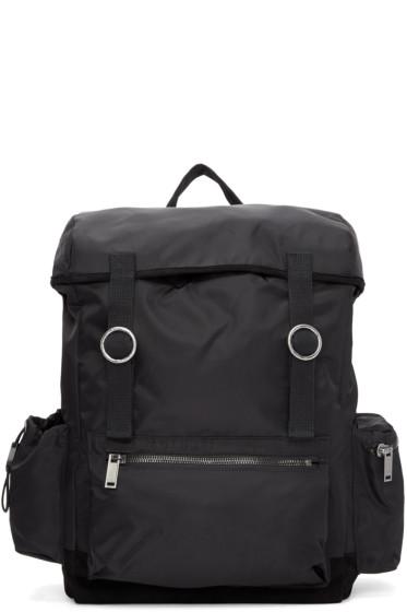 Christian Dada - Black Signature Nylon Backpack
