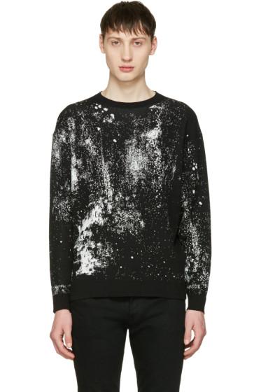 Lad Musician - Black High Gauze Pullover
