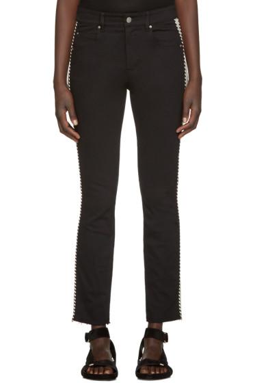 Isabel Marant Etoile - Black Two-Tone Haven Jeans