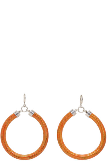 Isabel Marant - Orange Tube Earrings