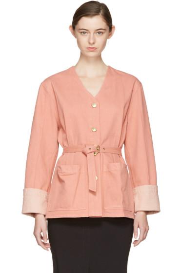 Isabel Marant - Pink Denim Estil Jacket