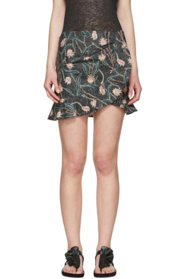 Isabel Marant - Grey Luna Miniskirt