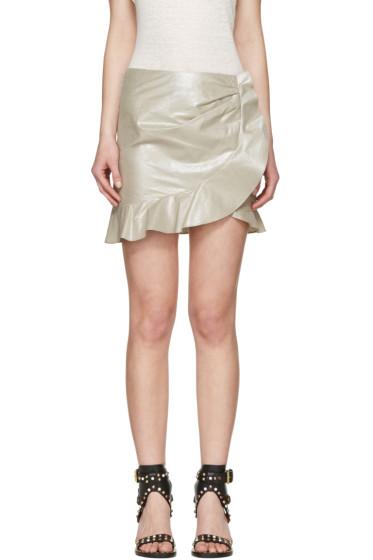 Isabel Marant - Silver Luna Miniskirt