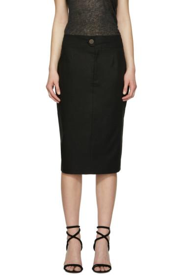 Isabel Marant - Black Stanton Skirt