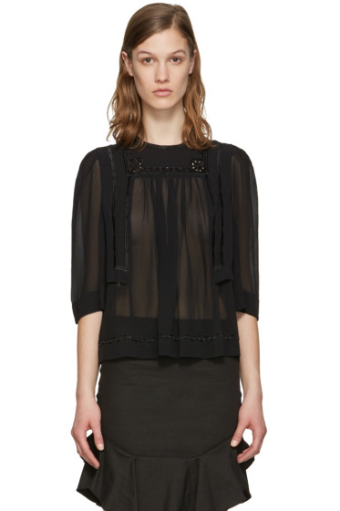 Isabel Marant - Black Mara Blouse