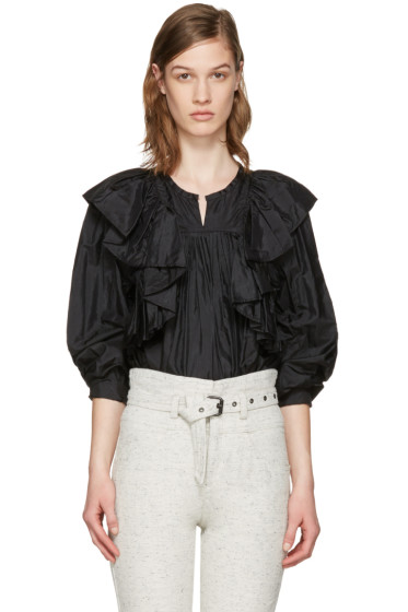 Isabel Marant - Black Arlington Blouse