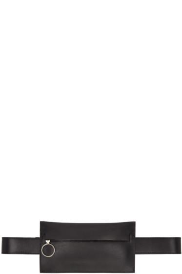 Off-White - ブラック サフ シングル ヒップ ベルト ポーチ
