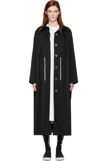 Off-White - ブラック マッキントッシュ クチュール トレンチ コート
