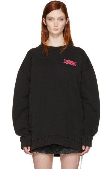 Off-White - Black 'Business Woman' Pullover