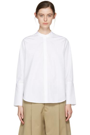 Studio Nicholson - White Alonso Noisy Shirt