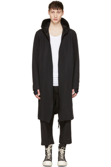11 by Boris Bidjan Saberi - Black Scarf Coat